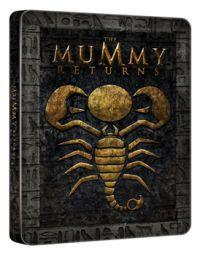 A múmia visszatér - limitált, fémdobozos változat (steelbook) Blu-ray