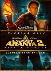 A nemzet aranya 2. - Titkok könyve DVD