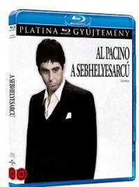 A sebhelyesarcú Blu-ray