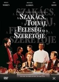 A szakács, a tolvaj, a felesége és a szeretője DVD