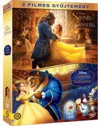 A szépség és a Szörnyeteg - Disney-gyűjtemény (élőszereplős + rajzfilm) (2 DVD) DVD