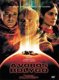 A vörös bolygó DVD