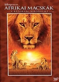Afrikai macskák - A bátorság birodalma DVD