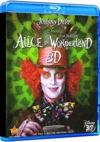 Alice Csodaországban 2D és 3D Blu-ray