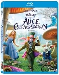 Alice Csodaországban Blu-ray