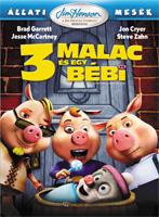 Állati mesék: 3 malac és egy bébi DVD