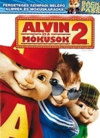 Alvin és a mókusok 2. DVD