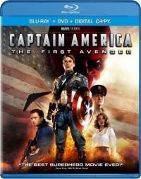 Amerika Kapitány - Az első bosszúálló Blu-ray