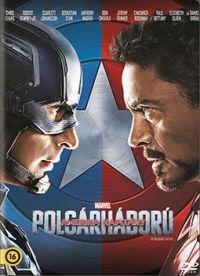 Amerika Kapitány - Polgárháború DVD