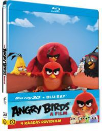 Angry Birds: A film - limitált, fémdobozos változat (steelbook) 2D és 3D Blu-ray