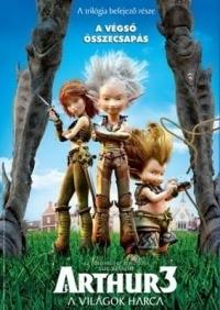 Arthur 3. - A világok harca DVD