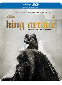 Arthur király: A kard legendája  *Limitált fémdobozos kiadás* 2D és 3D Blu-ray