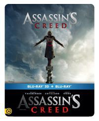 Assassins Creed 2D és 3D Blu-ray