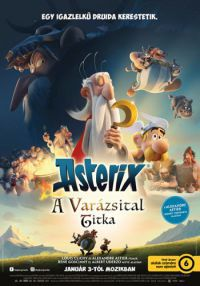 Asterix: A varázsital titka DVD