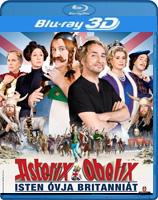 Asterix és Obelix - Isten óvja Britanniát 2D és 3D Blu-ray
