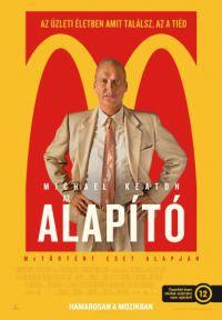 Az Alapító *McDonalds* DVD