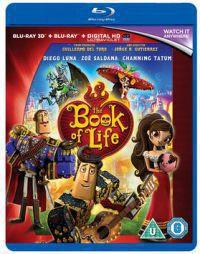 Az élet könyve Blu-ray