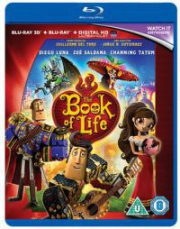 Az élet könyve 2D és 3D Blu-ray