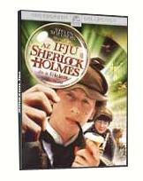 Az ifjú Sherlock Holmes és a félelem piramisa DVD