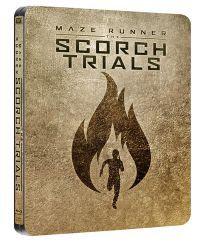 Az útvesztő: Tűzpróba - limitált, fémdobozos változat (steelbook) Blu-ray