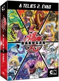 Bakugan - Teljes 2. évad (4-6. kötet) (3 DVD) DVD
