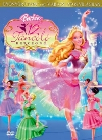 Barbie és a 12 táncoló hercegnő DVD
