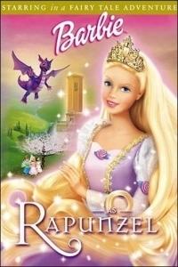 Barbie, mint Rapunzel DVD
