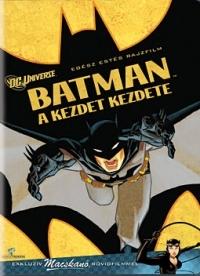 Batman: A kezdet kezdete DVD