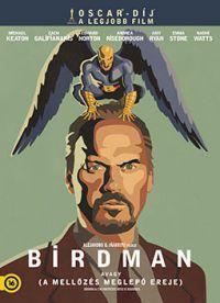 Birdman avagy a mellőzés meglepő ereje DVD