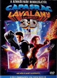 Cápasrác és Lávalány 3D DVD