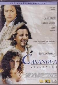 Casanova visszatér DVD