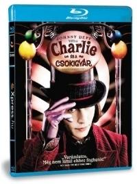 Charlie és a csokigyár Blu-ray