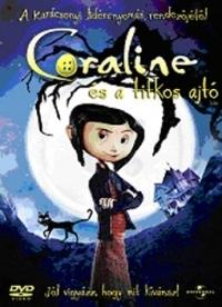 Coraline és a titkos ajtó DVD