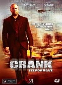 Crank - Felpörögve DVD