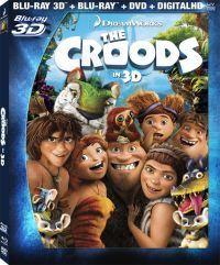Croodék (Blu-ray3D+BD+DVD) Blu-ray