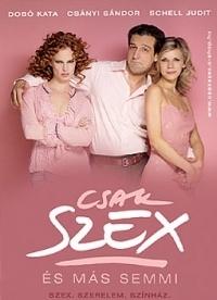 Csak szex és más semmi DVD