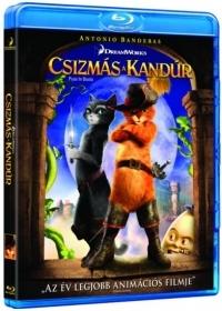 Csizmás, a kandúr Blu-ray