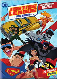 DC Justice League: Action - első évad, első kötet DVD