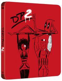 Deadpool 2. (mozi- és bővített változat) - limitált, fémdobozos változat (2 Blu-ray steelbook) Blu-ray