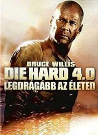 Die Hard 4. - Legdrágább az életed DVD