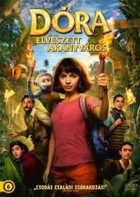 Dóra és az elveszett aranyváros DVD