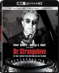Dr. Strangelove, avagy hogyan tanulhatjuk meg szeretni a bombát Blu-ray
