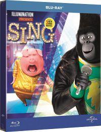 Énekelj! - limitált, fémdobozos változat (steelbook) Blu-ray