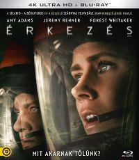 Érkezés (4K UHD+BD) Blu-ray