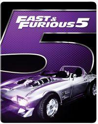 FF5: Halálos iramban: Ötödik sebesség - limitált, 2017-es fémdobozos változat (steelbook) Blu-ray