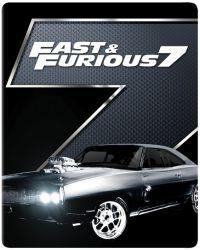 FF7: Halálos iramban 7. (mozi- és bővített változat) - limitált, 2017-es fémdobozos változat (steelb Blu-ray