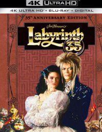 Fantasztikus labirintus - 35 éves jubileumi változat - digibook (4K UHD + Blu-ray) Blu-ray