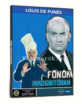 Főnök inkognitóban DVD
