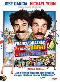 Franciadrazsék, avagy francia Borat robbantani Eiffel-torony! DVD