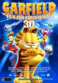 Garfield és a Zűr Kommandó (3D DVD) DVD